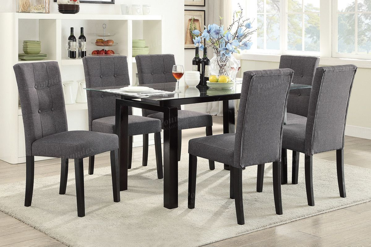 Poundex Arm chair & Dining chair F1595 (2Piece)