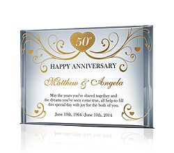 Anniversary Gift for Parents | Crystal Gifts | Pinterest ...