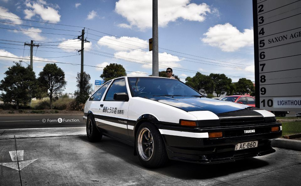 Initial D ?? Japanese cars, Ae86, Automotive