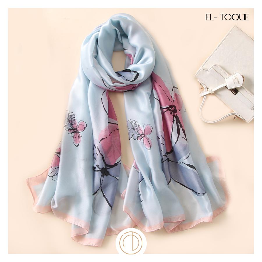 321f070a0883d Style your springs. | Silk - premium | Silk bandana, Summer scarves ...