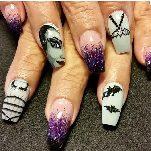Lily + Munster + von + Oli123 + – + Nail + Art + Gallery + nailartgallery.nailsmag.com + von + Nails + M …   – Beauty