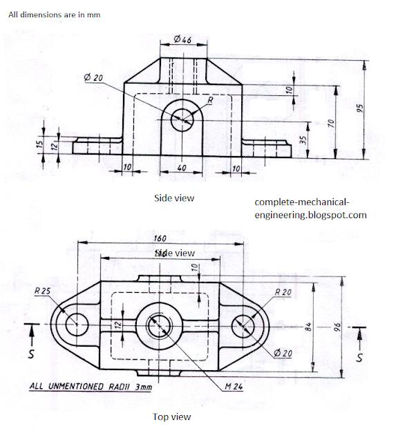 mechanical engineering  cad drawings