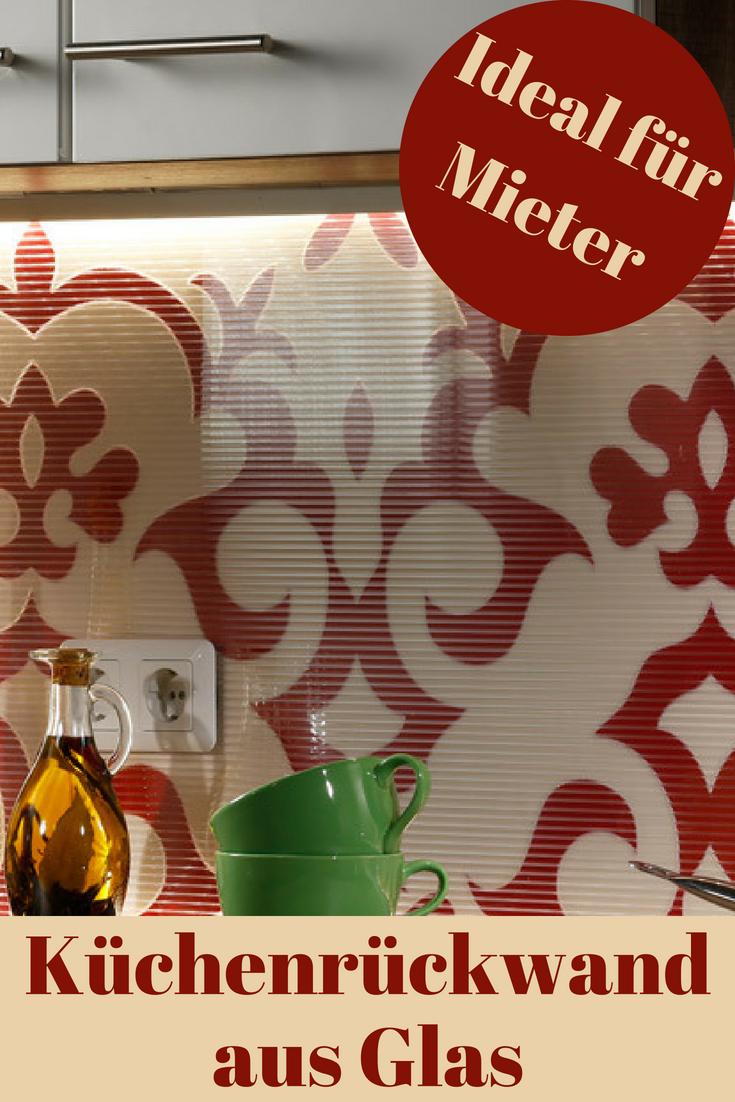 Kuchenruckwand Beleuchtet Bauen Renovieren Pinterest