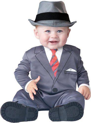 Infant Boy Costume: Baby Business Man Mafia Costume (12-18 months ...
