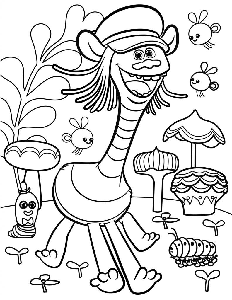 trolls movie coloring pages Trolls Movie Coloring Pages | Trolle | Pinterest | Coloring pages  trolls movie coloring pages