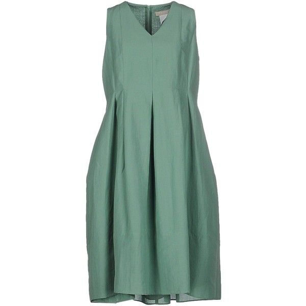 6baa7ced98f s Max Mara Knee-length Dress ( 240) ❤ liked on Polyvore featuring ...