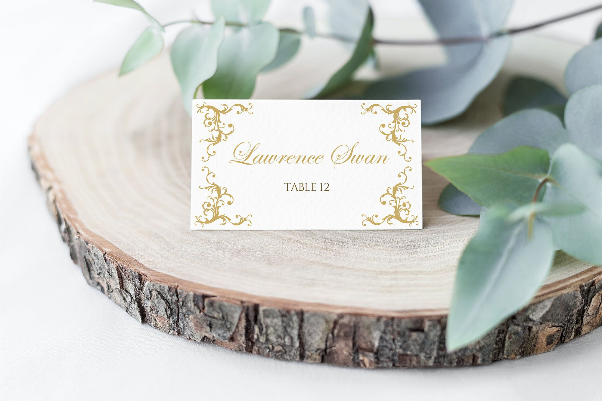Pin on Place Cards & Table Number Cards