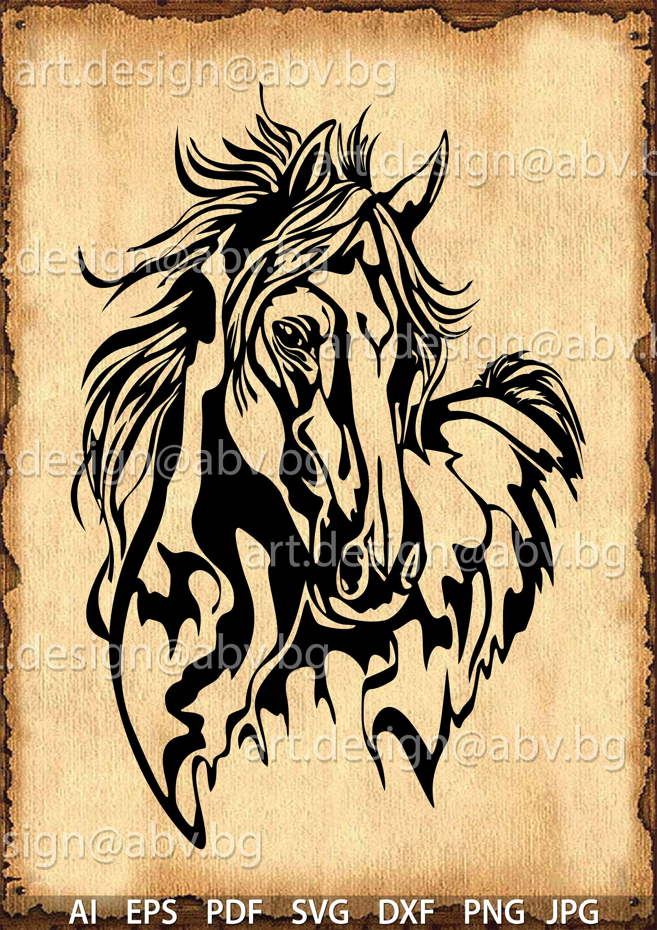Vector Horse Svg Dxf Ai Eps Pdf Png Jpg Download Digital Image Graphical Image Discount Coupons In 2020 Moose Wall Art Horse Silhouette Horse Artwork