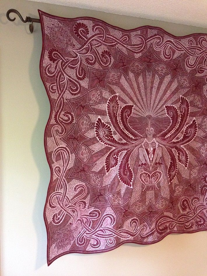 How to Hang a Quilt: 3 Creative Ways | Quilt hangers, Hanger and ... : rod to hang quilt on wall - Adamdwight.com