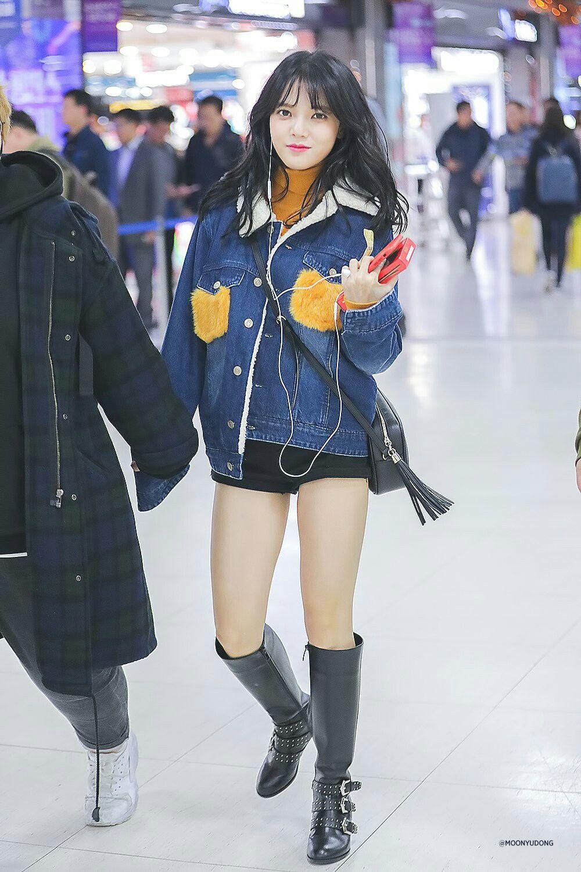 Aoa Jimin Jimin Airport Fashion Korean Fashion Kpop Fashion
