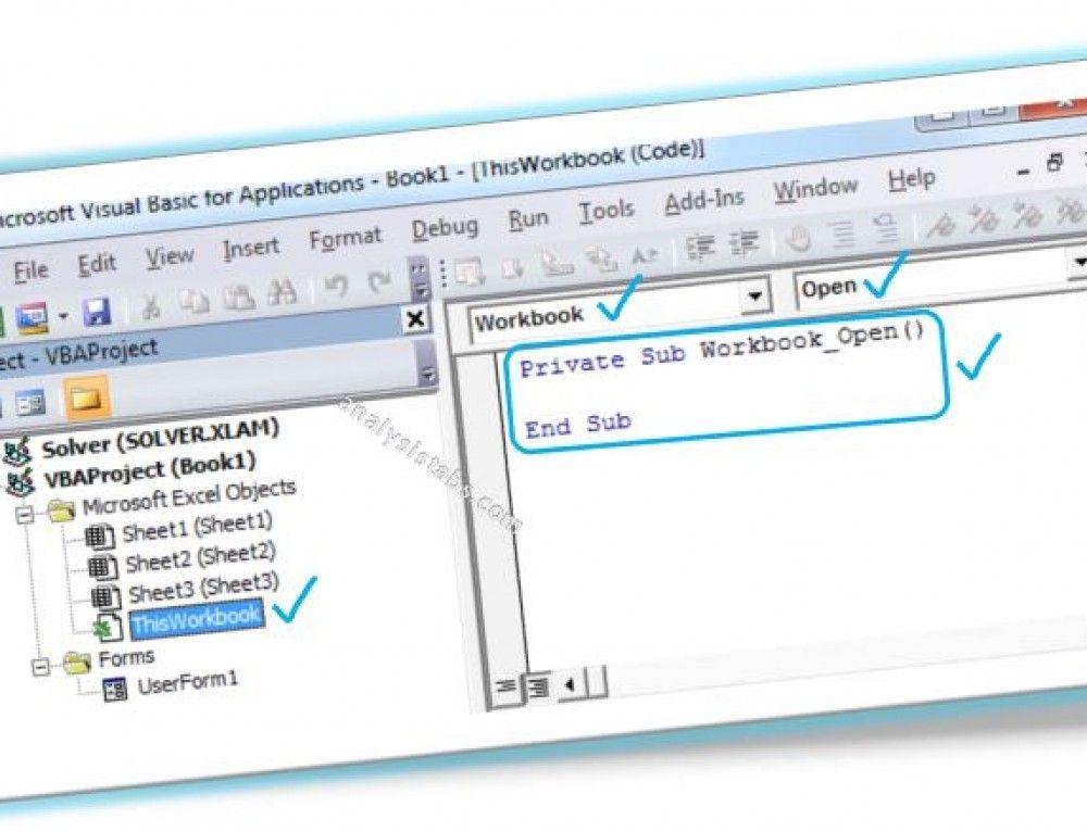 Hide UnHide Worksheets in Excel VBA (avec images