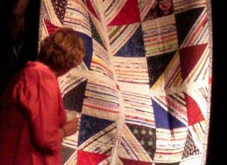Selvage Blog: Eleanor Burns Takes a Look at Karen Griska's selvage ... : quilt show chicago - Adamdwight.com
