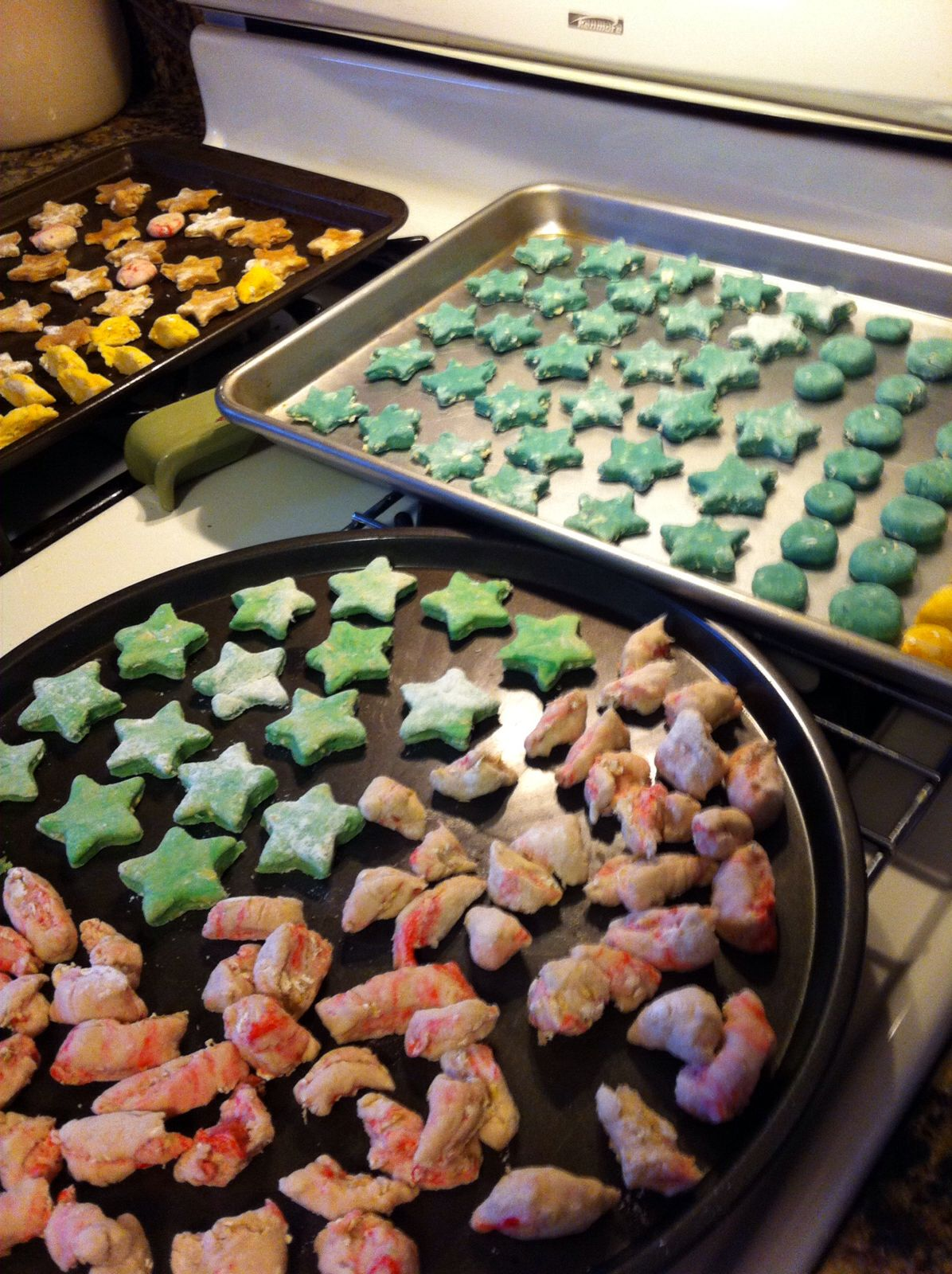 Homemade rat treats ~baby food (optional) or lactose yogurt and or