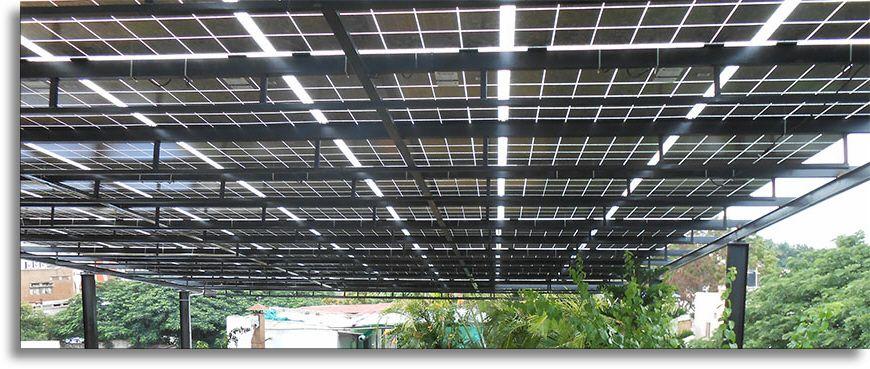 See Through Solar Panels Solar Panel Porch Roof Solar