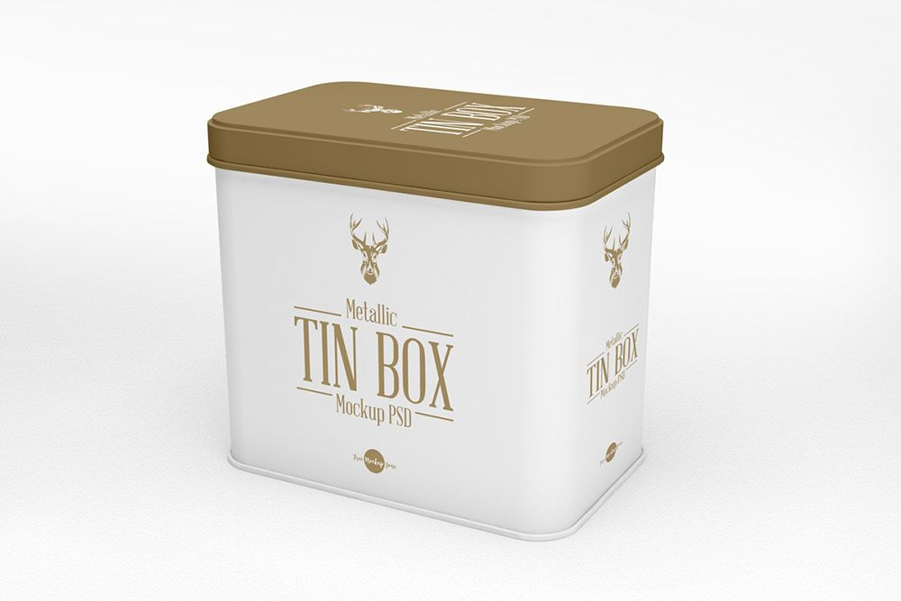 Download Metallic Tin Box Mockup Metallic Tin Box Mockup Box Mockup Mockup Free Psd Mockup Psd