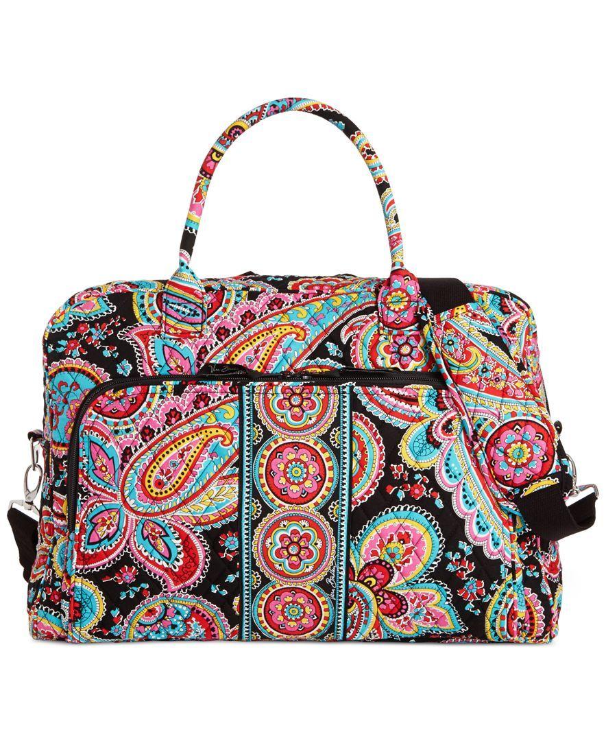 f8fedcd42df7 Vera Bradley Weekender - Handbags   Accessories - Macy s. Duffel  BagsWeekender ...