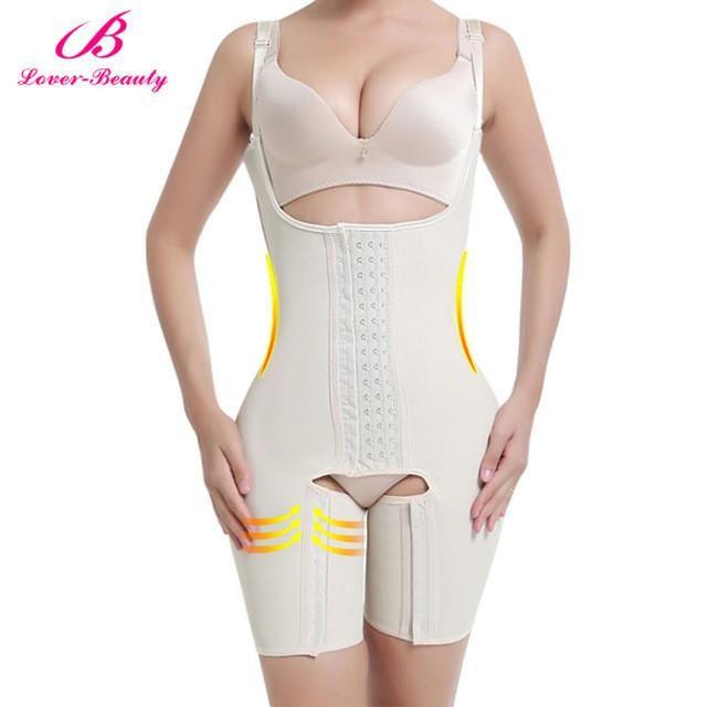 e683968929576 Lover Beauty Full Body Shaper Plus Size Waist Trainer Latex Waist Cincher  Corset Tummy Control Underwear Hot Shapers Shapewear