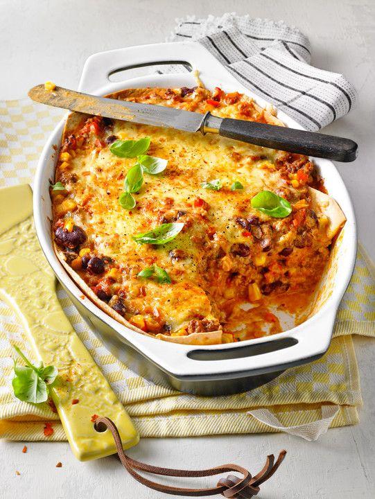 Mells mexikanische Enchilada-Lasagne von Mell1982 | Chefkoch