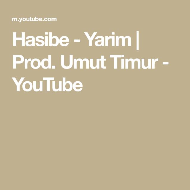 Hasibe Yarim Prod Umut Timur Youtube Choreography Oberhausen Playlist