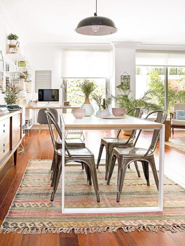 10 Ideas para un comedor nórdico y acogedor | Ideas para el hogar ...