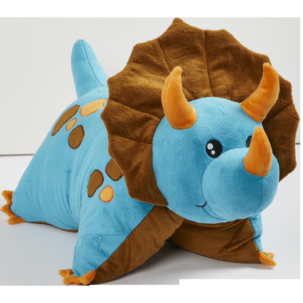 Blue Dinosaur Pillow Pet Animal Pillows Dinosaur Stuffed Animal Animals