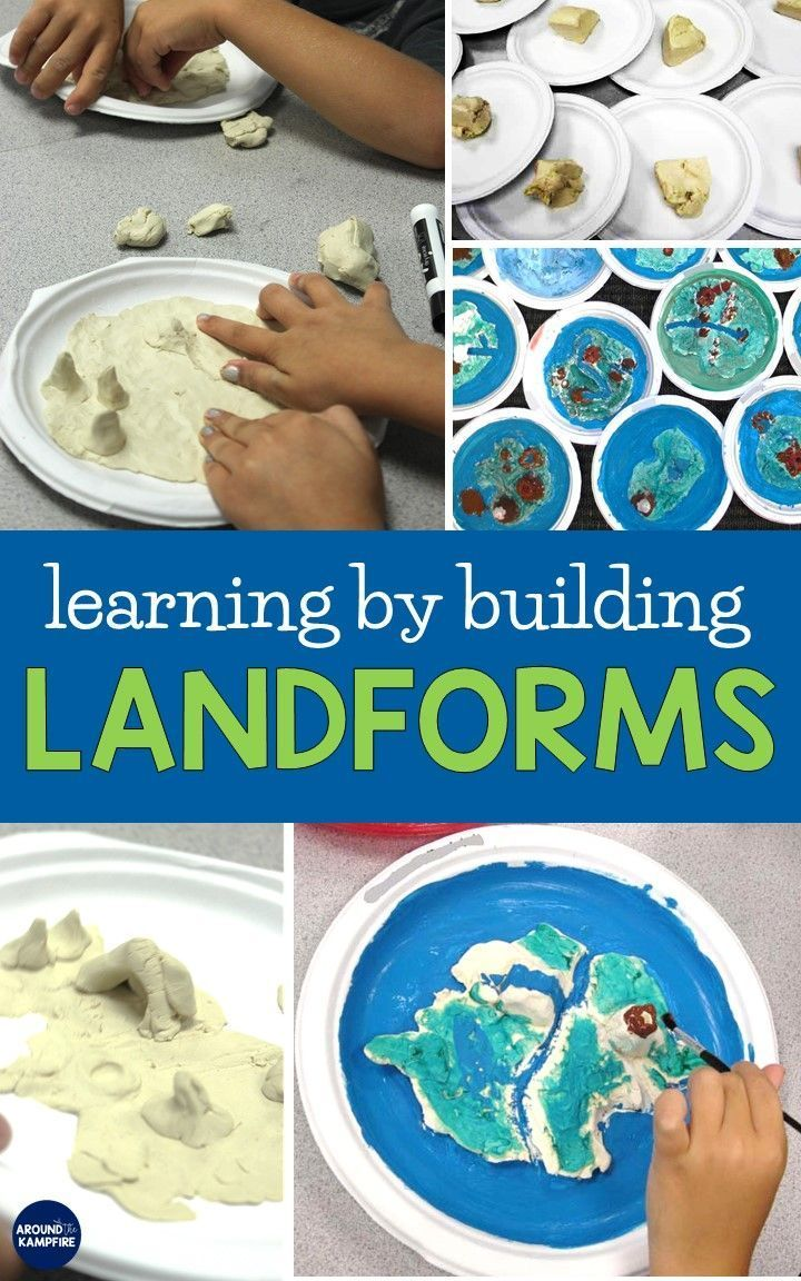 Photo of Learning About Landforms – Around the Kampfire