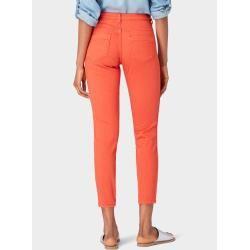 Photo of Tom Tailor women's Alexa slim jeans in ankle length, red, plain, size 27/32 Tom TailorTom Tailor