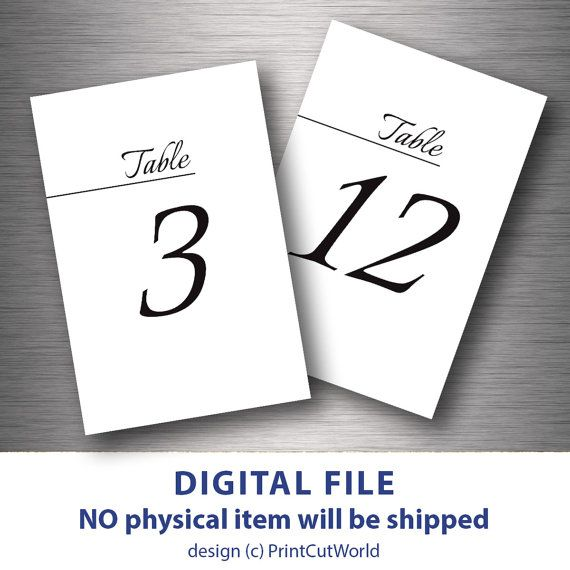 photograph regarding Free Printable Table Numbers 1 30 identified as Desk quantities 4x6 desk figures printable marriage ceremony desk