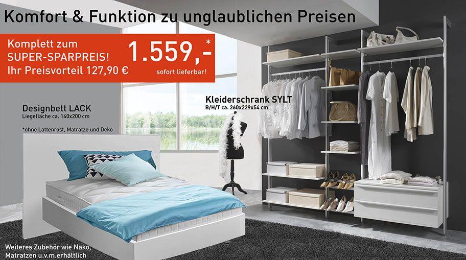 Angebot der Woche! Gültig bis 11082017   wwwfrank - komplett schlafzimmer mit matratze und lattenrost