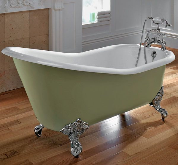Modern bathtubs are available in many different style, – antique and ...