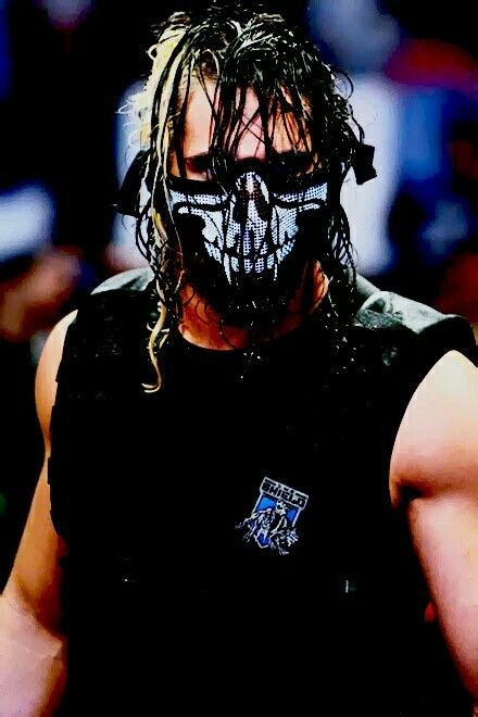 Seth Rollins. That mask was so cool..