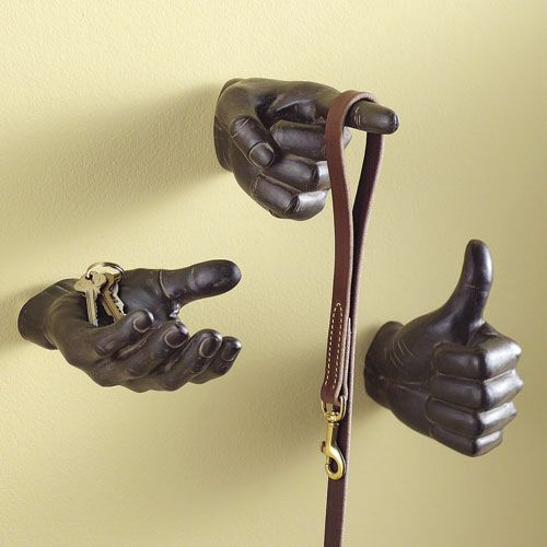 Set of 3 Hand Hooks from Seventh Avenue ® | For the Home | Pinterest ...