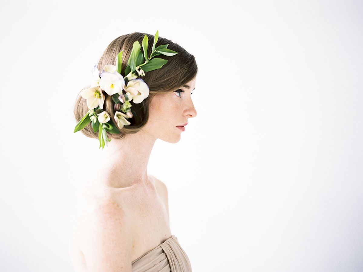 Flowers in your hair a beautiful and romantic vintage look choice model karley parker photographer jessica peterson flowers sarah winward hair aubrey nelson pretty hair flowers for that princess youve been thinking of izmirmasajfo Gallery