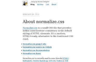 Normalizes html5 css reset by nicolas gallagher normalizes html5 css reset by nicolas gallagher malvernweather Gallery