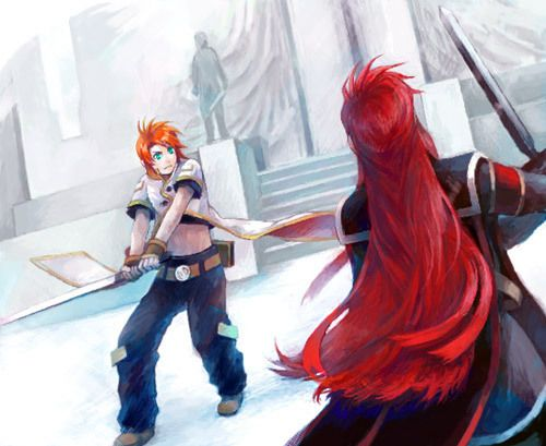Meaning Of Birth Fight Against Luke Asch Tales Of The Abyss