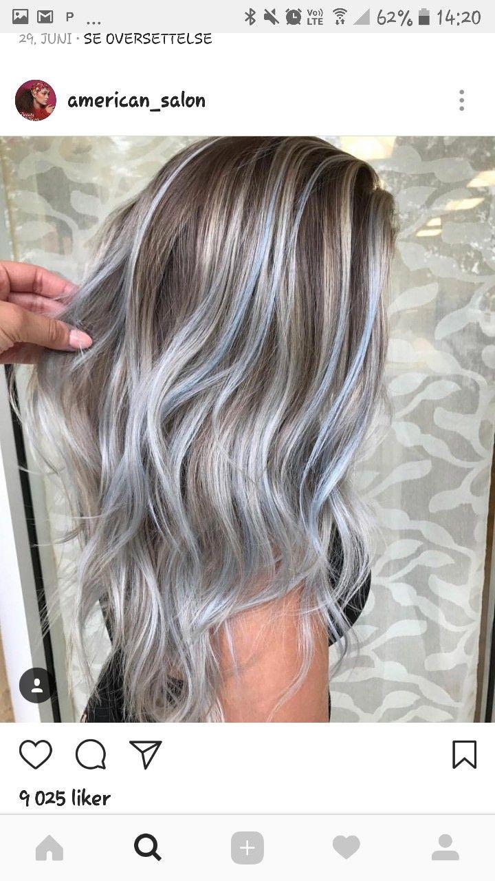 Wow grey hair colors pinterest cabello peinados y color de