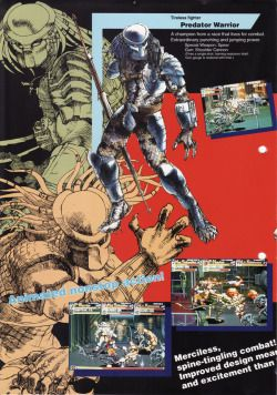 Game FlyersAlien The Archive Arcade Flyer Video VsPredator SqVzMLUpjG