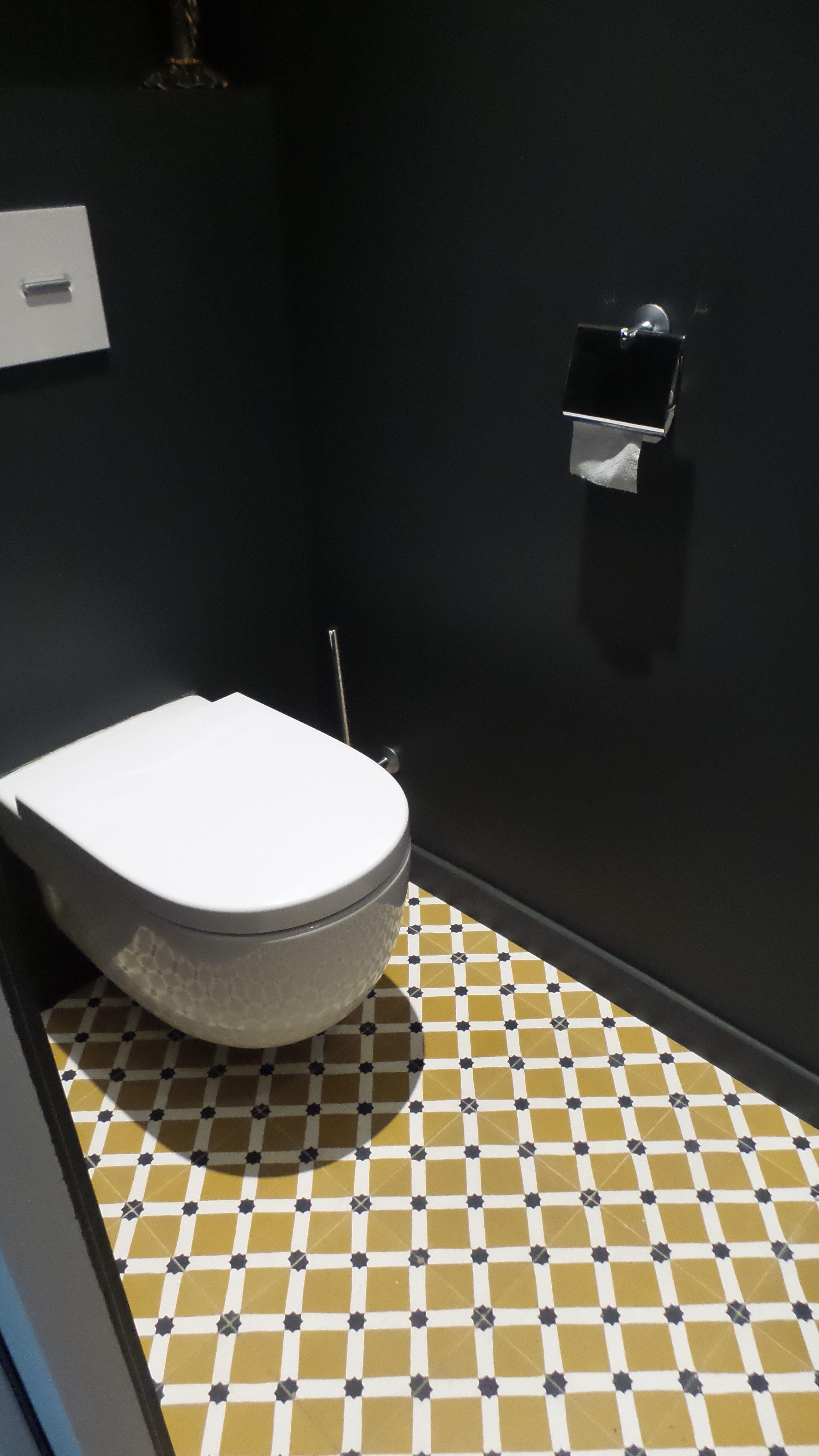 Carreaux de ciment cement tiles Motif Kawa Bathroom Inspiration