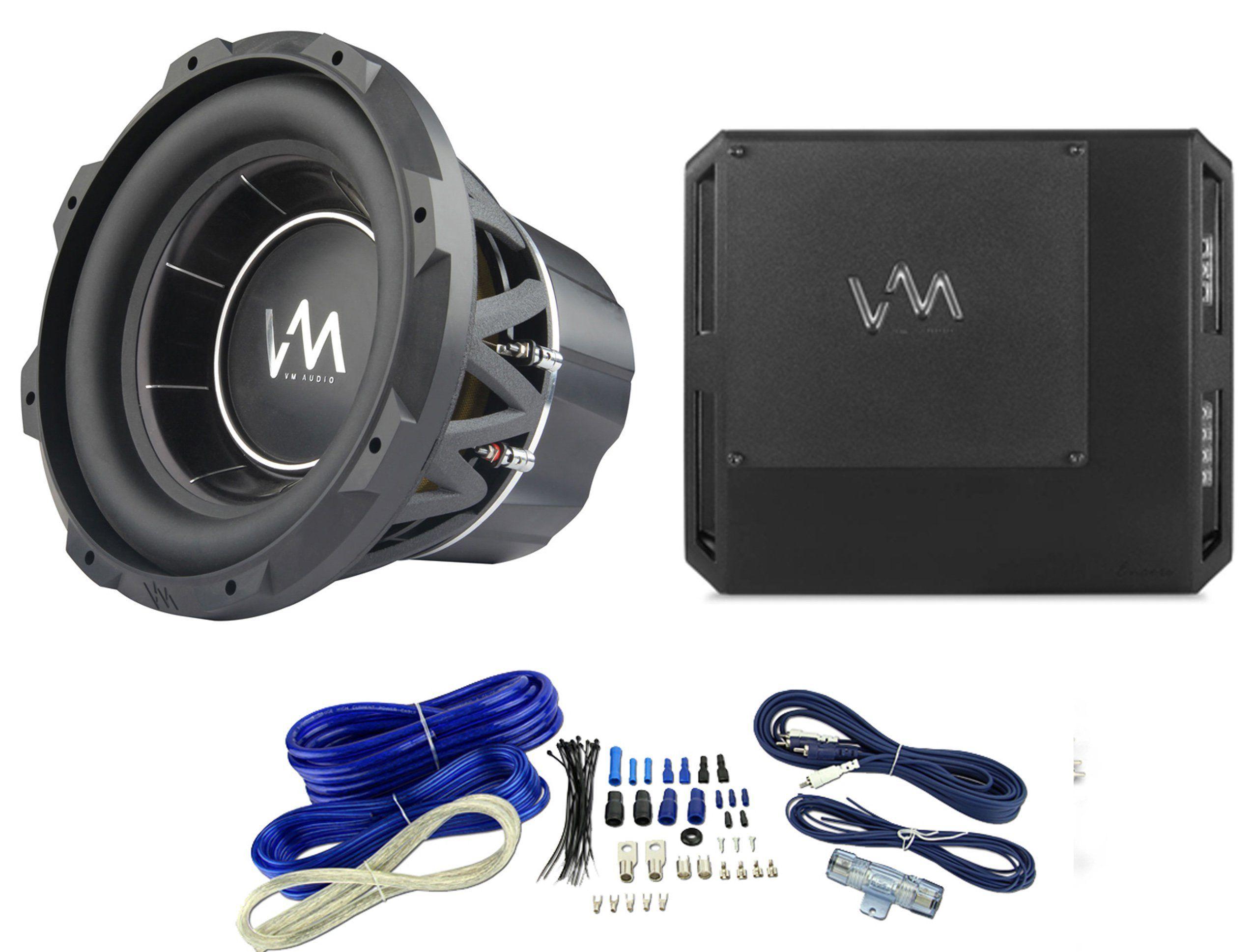 VM Audio ECW120 12  Encore Comp Sub + ECD1500.1 Class D Amplifier + Wiring Kit. VM Audio ECW120 12  High Excursion Competition Subwoofer - RMS Power 1500 ...  sc 1 st  Pinterest : sub wiring kit - yogabreezes.com