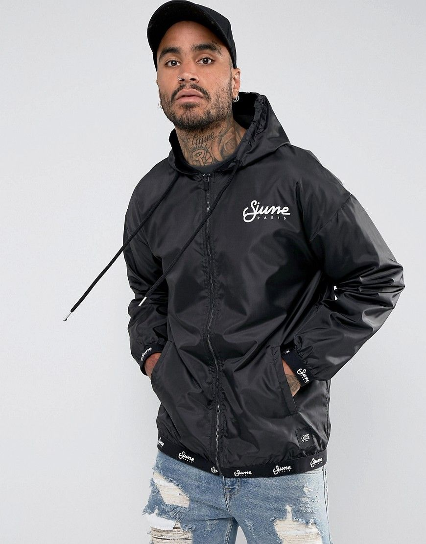 fd006f0c3 Sixth June Coach Jacket With Hood In Black - Black | Sport in 2019 ...
