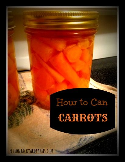 How to Can Carrots - Preserving the Harvest