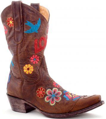 womens cowboy boots brown | Women evening shoes | Pinterest | Warm ...