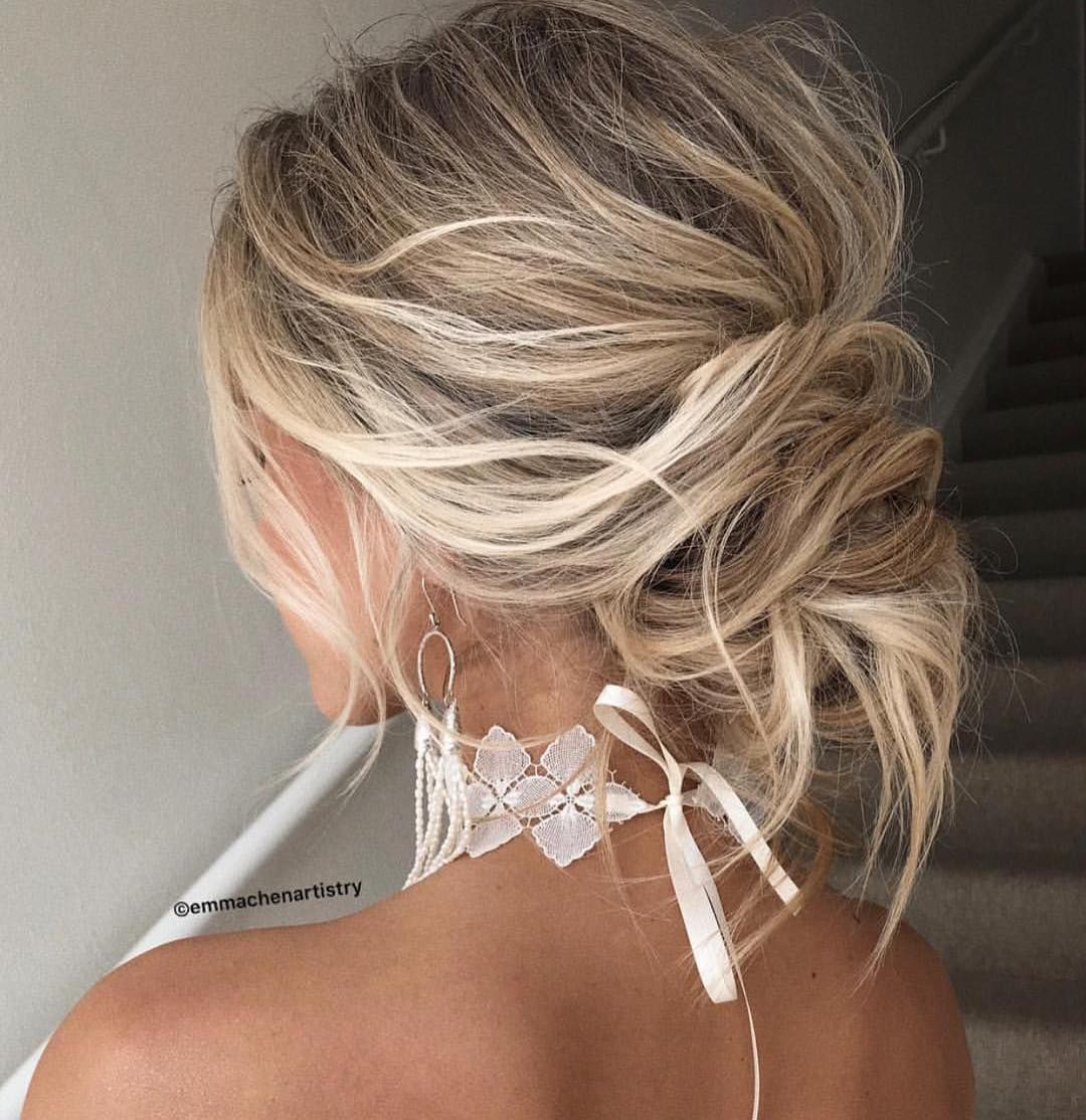 Messy updo hair ideas