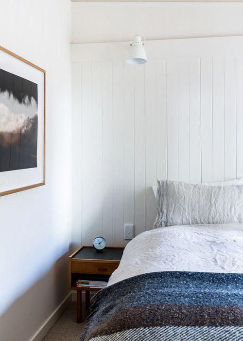 Bedroom Decor Melbourne via melbourne home · simone and rhys haag   the design files