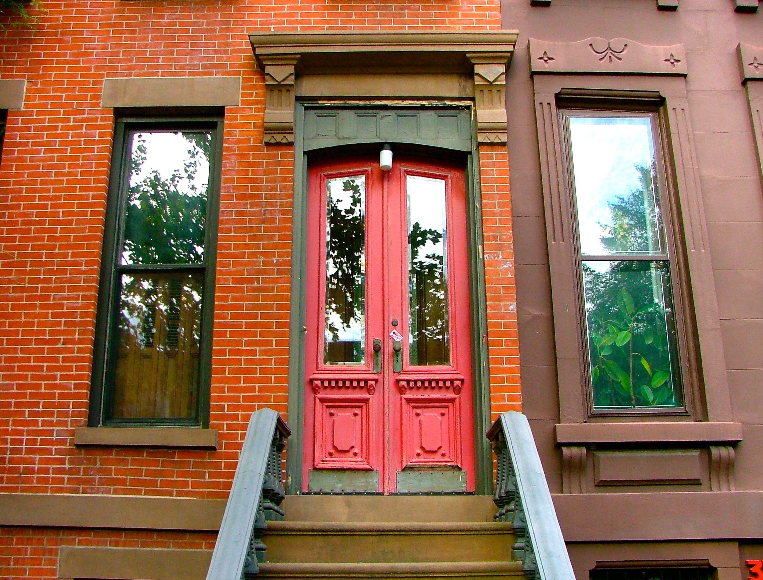Brooklyn Red Door & Brooklyn Red Door   Beautiful Doors   Pinterest   Doors pezcame.com