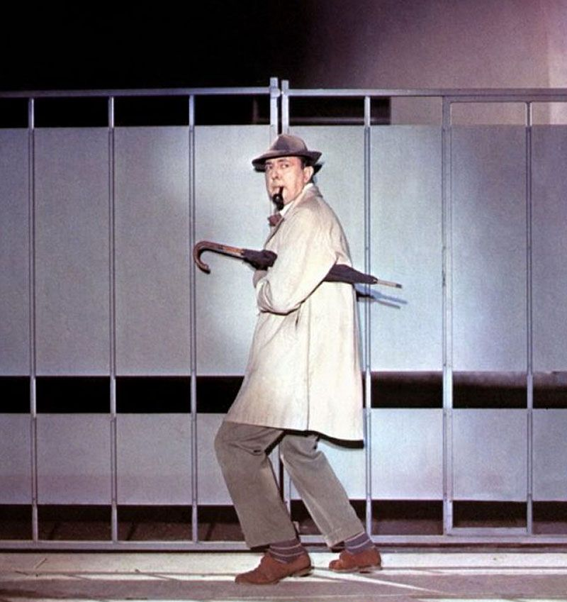 Jacques Tati En Mi Tío Mon Oncle 1958 Cinema Paraiso Cineastas Peliculas