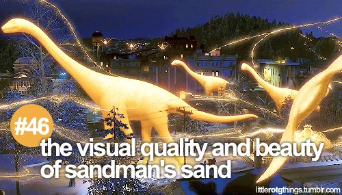 "#46 ""The visual quality and beauty of Sandman's sand."" /// ROTG Rise of the Guardians"