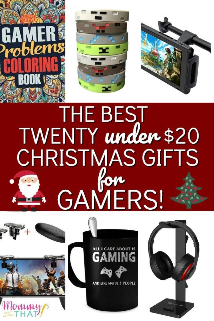 The Best Twenty Under 20 Christmas Gifts For Gamers Diy