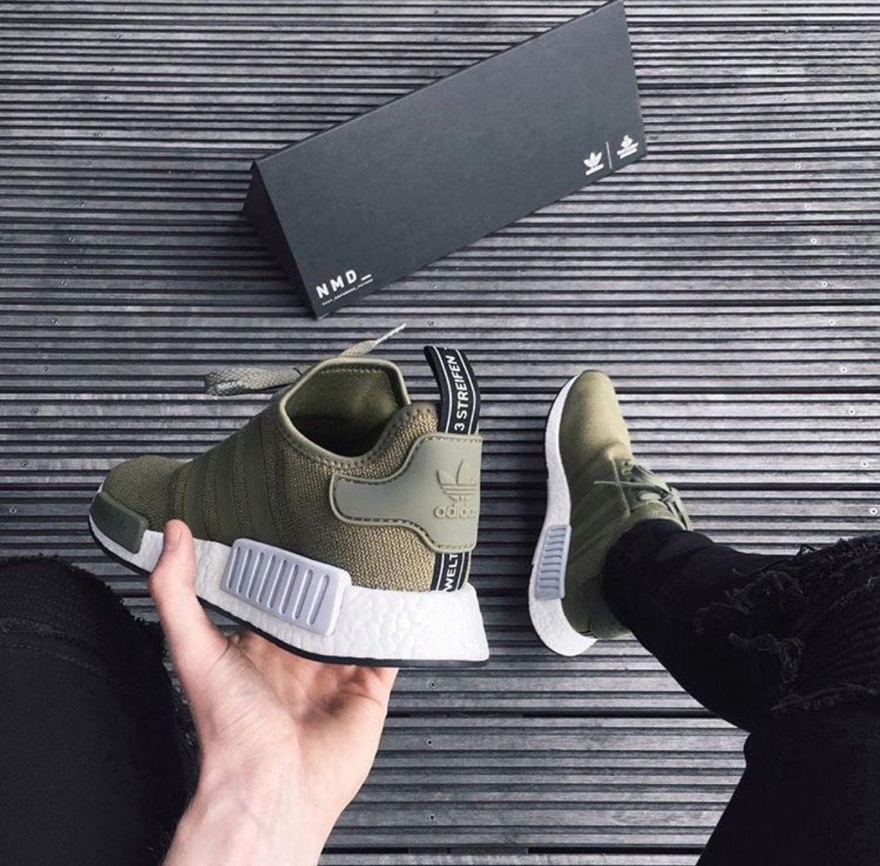 spiaggia coro gioia  adidas NMDs Olive More | Sneakers men fashion, Fashion shoes, Best shoes  for men