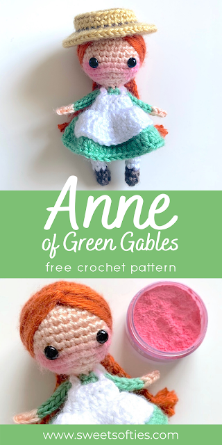 Sweet Softies | Amigurumi and Crochet: Anne of Gre